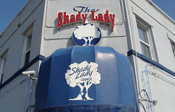 The Shady Lady Kansas City awning photo