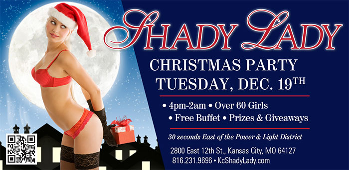 You're Invited to the 2017 Christmas Party at Shady Lady