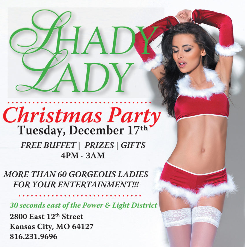 Celebrate the Holidays @Shady Lady